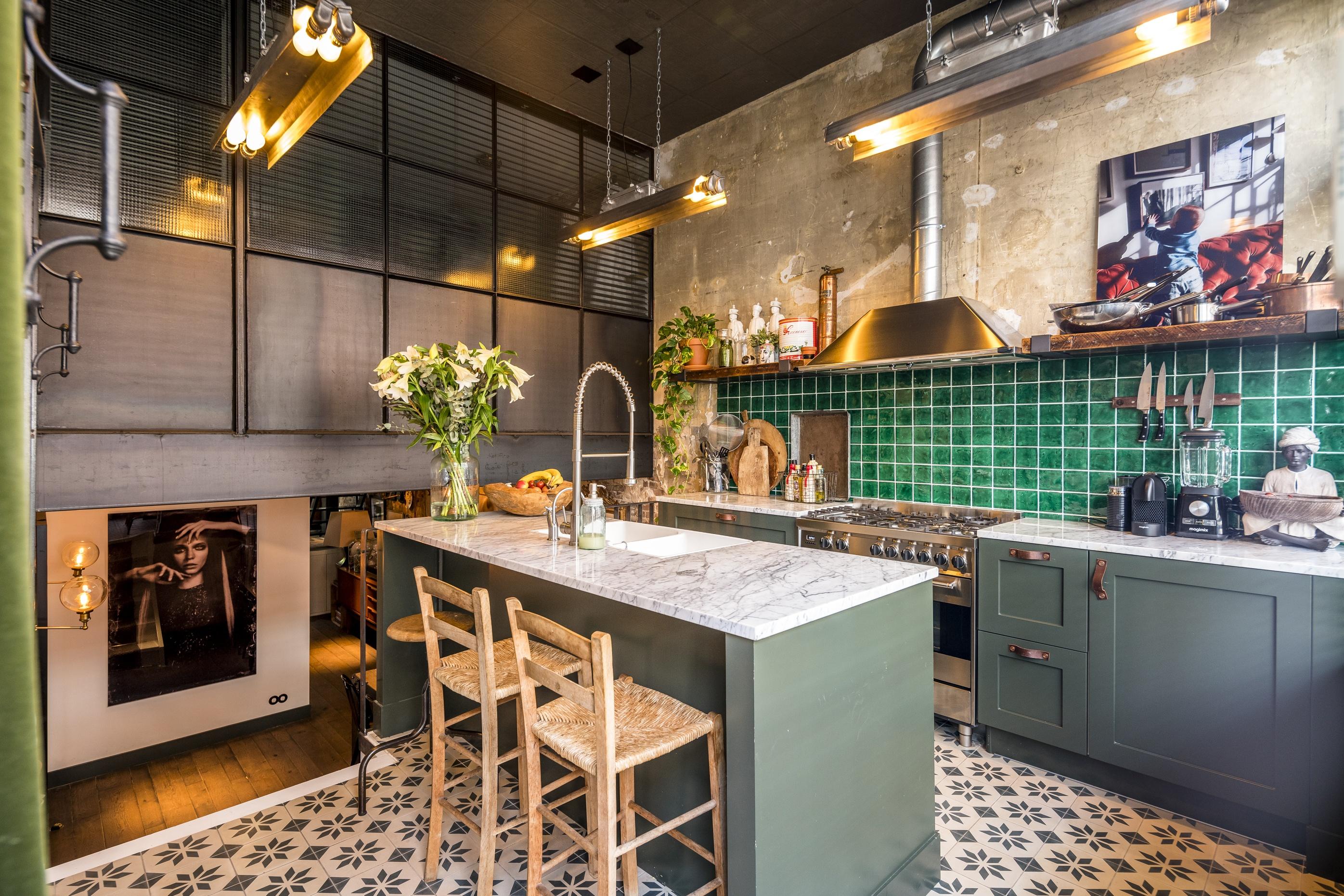Interior Design Studio Amsterdam garage conversion amsterdam - bricks studio